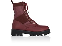Altuzarra Women's Cosmo Leather Ankle Boots Burgundy