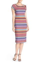 Women's Eci Stripe Pique Midi Dress
