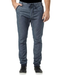 Buffalo David Bitton Zoltan Stone Washed Denim Jogger Pants Heavy Stone Washed