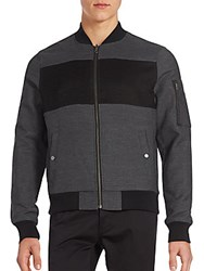 Original Penguin Reversible Cotton Jacket Asphalt