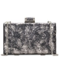 Patricia Nash Alora Frame Clutch Black Metallic