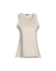 Scaglione Tank Tops Light Grey