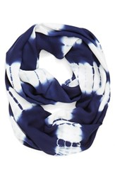 Women's Phase 3 'Dive In' Infinity Scarf Blue Navy Combo