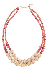 31 Bits Women's Oasis Paper Bead Necklace