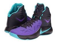 Nike Zoom Hyperfuse 2014 Cave Purple Hyper Grape Dusty Cactus Men's Basketball Shoes