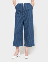 C Meo Collective Stay Cool Pinstripe Pants Denim