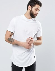 Only And Sons Check T Shirt White