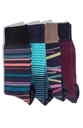 Hook Albert 4 Pack Socks Blue