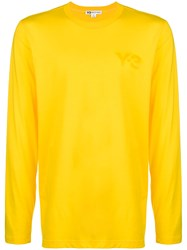Y 3 Classic Sweater Yellow And Orange