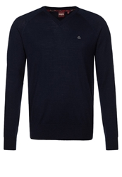 Merc Conrad Jumper Navy Dark Blue
