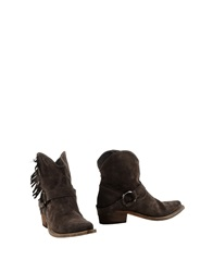 Aniye By Ankle Boots Dark Brown
