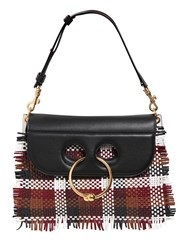 J.W.Anderson Medium Pierce Woven Leather Shoulder Bag