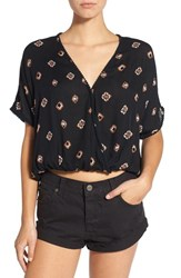Women's Amuse Society Aztec Print Woven Top