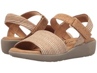 Easy Spirit Kala White Multi Natural Combo Nubuck Women's Shoes Beige