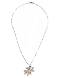 Kelly Wearstler 'Hashtag' Necklace Metallic