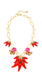 Kate Spade New York Pepper Statement Necklace Multi