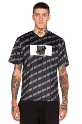 Undefeated Hooligan Short Sleeve Jersey Black