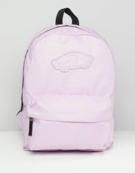 Vans Realm Pink Backpack Orchid Bouquet Multi
