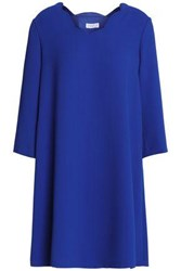Claudie Pierlot Satin Crepe Mini Dress Royal Blue