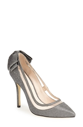 Menbur 'Crusy' Glitter Pointy Toe Pump Women Grey