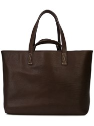Hender Scheme Large Tote Bag Brown
