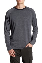 Benson New York French Terry Pullover Gray