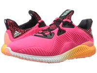 Adidas Alpha Bounce Shock Red White Sun Glow Ice Green Crysal White Women's Running Shoes Pink