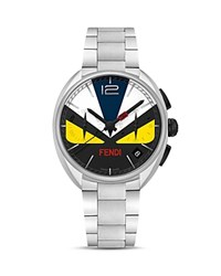 Fendi Momento Bug Stainless Steel Watch 40Mm Multi