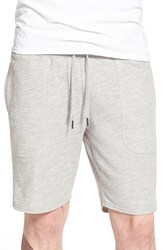 Men's Ezekiel 'Trainer' French Terry Knit Shorts Heather Grey