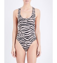 Prism Los Angeles Swimsuit Tiger Jacquard
