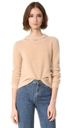 Veda Note Sweater Wheat