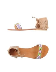 Jfk Thong Sandals Azure