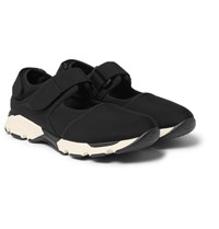 Marni Cutout Neoprene Sneakers Black