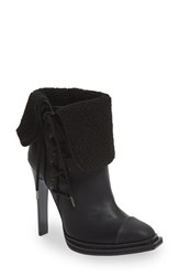 Women's Gx By Gwen Stefani 'Tribe' Foldover Cuff Bootie Black Faux Leather