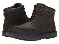 Rockport Boat Builders Waterproof Moc Toe Boot Dark Brown Men's Lace Up Boots