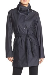 Women's Helly Hansen 'Kirkwall' Raincoat Navy