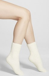 Women's Nordstrom 'Butter' Slipper Socks Ivory Pristine