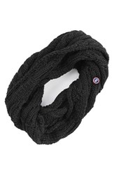 Canada Goose Women's Chunky Cable Wool Snood Black