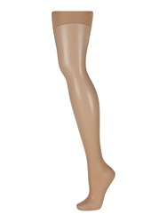 Linea 15 Den Leg Bum And Tum Shaping Tights Natural