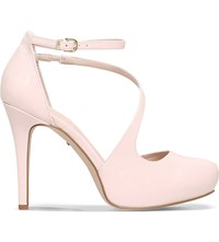 Carvela Antler Patent Court Shoes Pale Pink