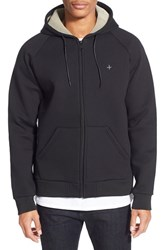 Men's Tavik 'Cleon' Midweight Fleece Hoodie Jet Black