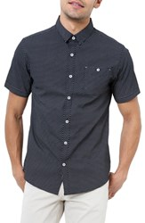 7 Diamonds Suavecito Slim Fit Sport Shirt Black