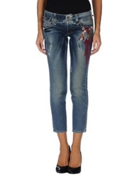 Galliano Denim Pants Blue