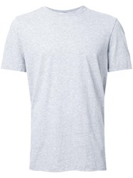Bassike Classic Crew Neck T Shirt Grey