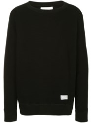 Makavelic Soft Warm Sweatshirt Black