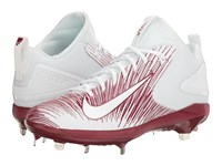 Nike Trout 3 Pro Baseball Cleat Team Maroon White Men's Cleated Shoes Burgundy