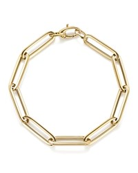 Bloomingdale's Thin Link Bracelet In 14K Yellow Gold 100 Exclusive