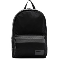 Diesel Black And Grey Discover Mirano Backpack
