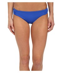 Becca Color Code Tab American Bottom Electric Blue Women's Swimwear