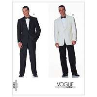 Vogue Men's Suits Sewing Pattern 2383